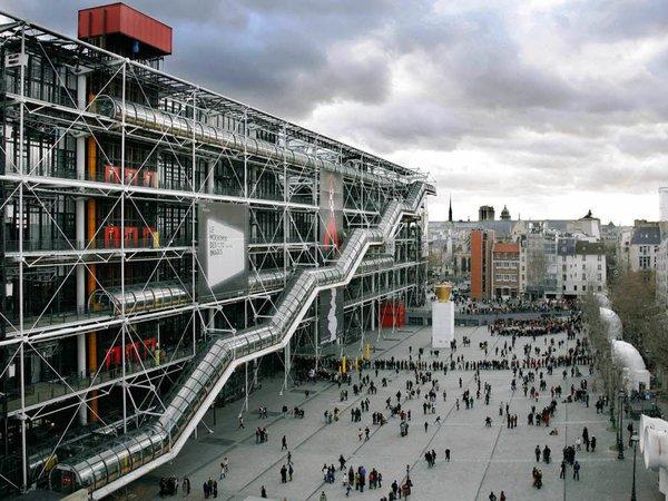 The Centre Georges Pompidou, Paris, France.