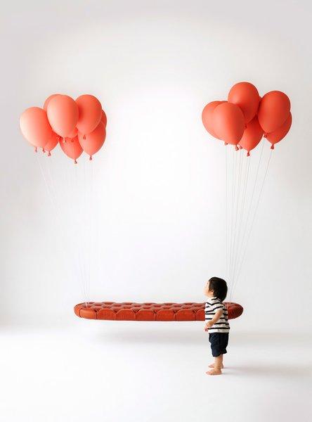 Here is Satoshi Itasaka's iconic Balloon Bench.