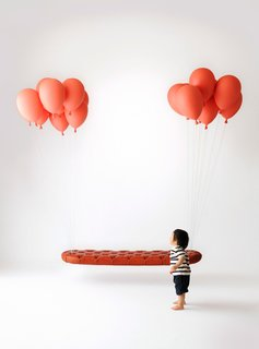 Here is Satoshi Itasaka's iconic Balloon Bench.