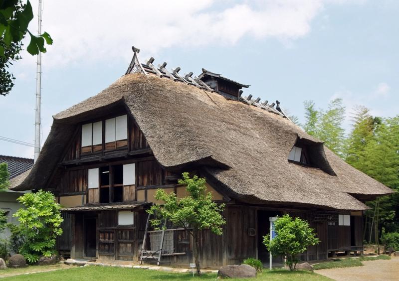 This is a former Shibuya-ke House from 1822. Image by wakiiii.