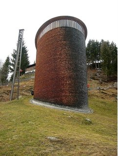 Gerald Parsonson's Favorite Buildings - Photo 4 of 8 - The Peter Zumthor-designed St. Benedict Chapel in Switzerland.