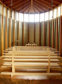 Gerald Parsonson's Favorite Buildings - Photo 5 of 8 - The peaceful chapel interior.