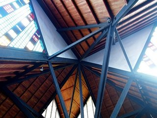 Gerald Parsonson's Favorite Buildings - Photo 8 of 8 - The ceiling and construction detail.