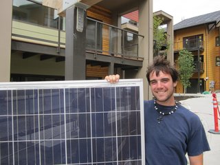 A Zero-Energy Community: Part 1 - Photo 5 of 8 - Each home includes a solar photovoltaic panel array adequate to offset the home's annual energy use.