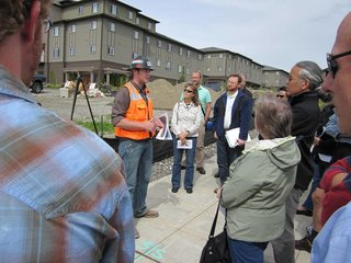 A Zero-Energy Community: Part 1 - Photo 7 of 8 - Our extensive on-site education program included monthly construction walk-throughs.