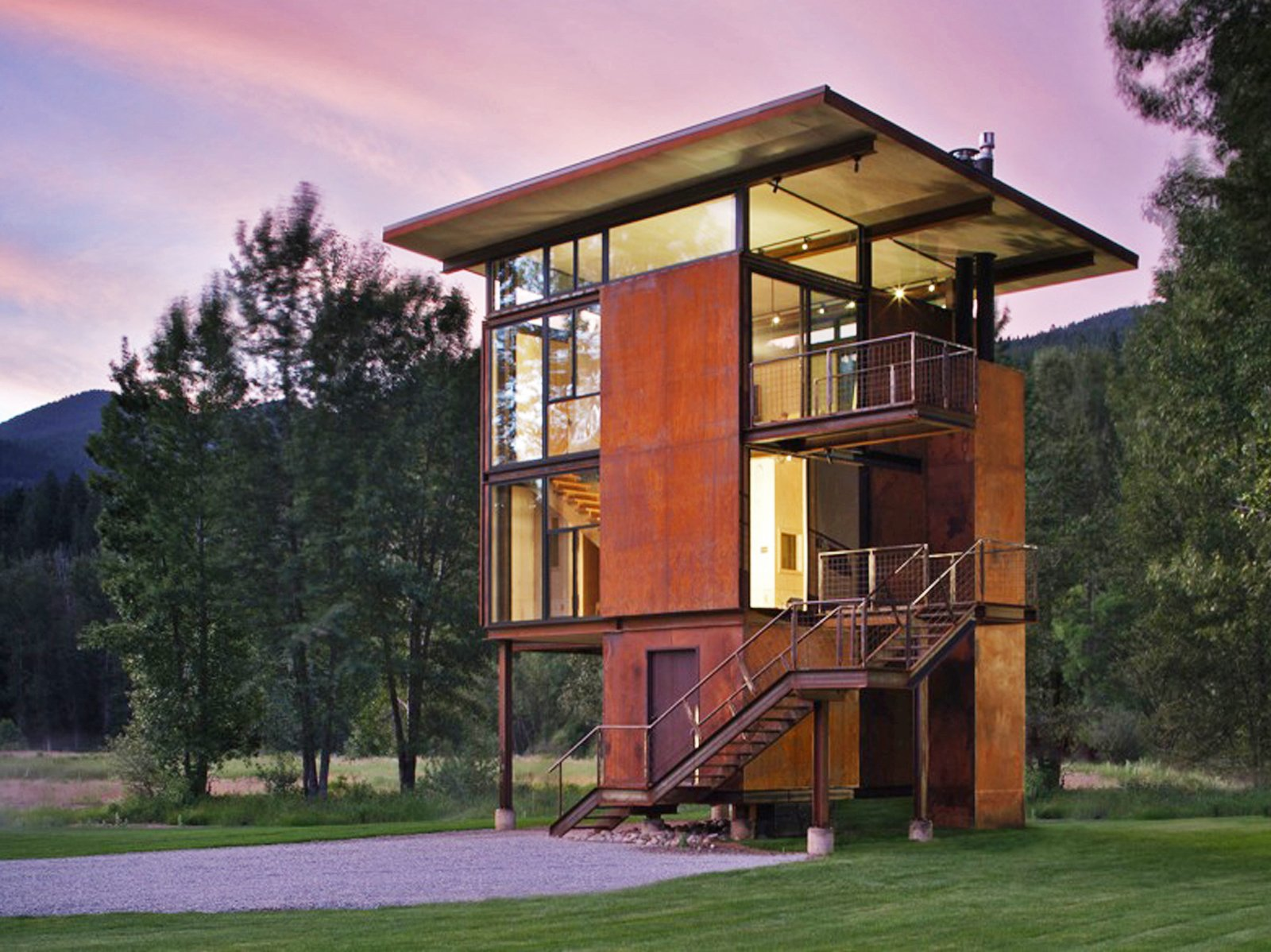 Delta Shelter, designed by Tom Kundig. Photo by Tim Bies, Olson Kundig Architects. Best by DAVE MORIN