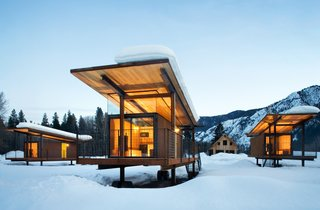 101 Best Modern Cabins - Photo 80 of 101 - A Rolling Hut. Photo by Tim Bies, Olson Kundig Architects.