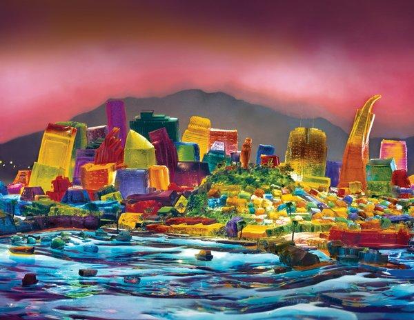 San Francisco Skyline, Liz Hickok