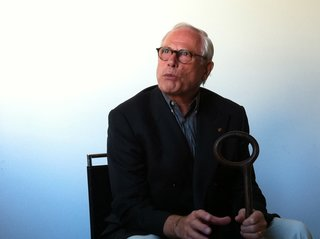 Meeting Dieter Rams - Photo 2 of 2 - Dieter Rams at the San Francisco Museum of Modern Art.