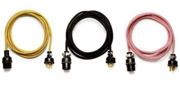 A rather good looking trio of American-made extension cords by Best Made Company.