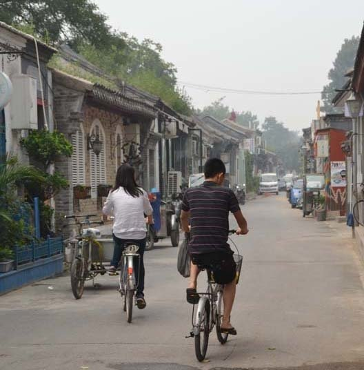 """Shahid captured this image while """"cruising through a hutong"""" in Beijing. Hutongs are Beijing's narrow streets and alleys that are sadly slowly disappearing to make way for new roads, which you can read about in our """"Protect and Conserve"""" article in the June 2010 issue, if you've got it handy."""