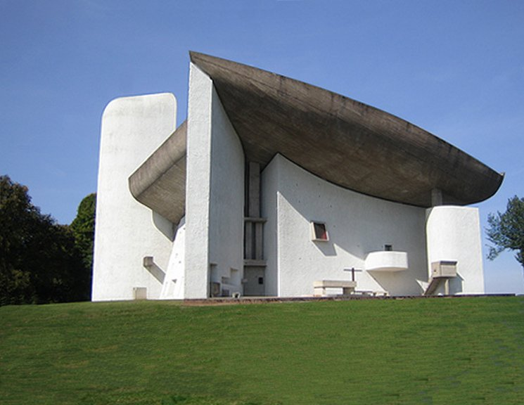 Ronchamp, Notre Dame du Haut Le Corbusier, 1955.  Photo 1 of 6 in Page Goolrick's Favorite Buildings