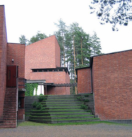 Saynatsalo Town Hall, designed by Alvar Aalto in 1952.  Photo 2 of 6 in Page Goolrick's Favorite Buildings