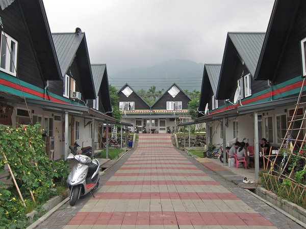 A completed village of Hseih Ying-Chun's deisgn.