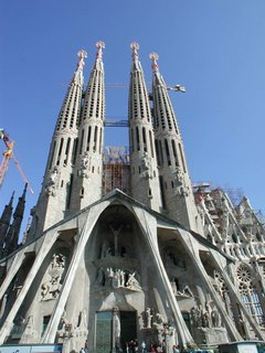 Schoenenberger's Favorite Buildings - Photo 1 of 3 - Gaudi's Sagrada Familia.