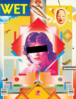 April Greiman in collaboration with Jayme Odgers, cover for WET magazine, 1979. © April Greiman and Jayme Odgers