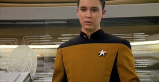 Friday Finds 10.21.11 - Photo 1 of 9 - An ever-so-dashing shot of Wesley Crusher.