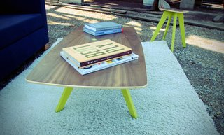 This coffee table retails for $200.