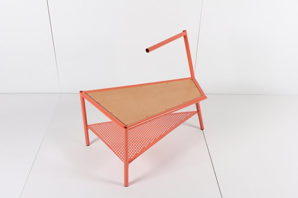 Here's a side table. I find this piece simultaneously ugly and beautiful... which means I can't stop looking at it.