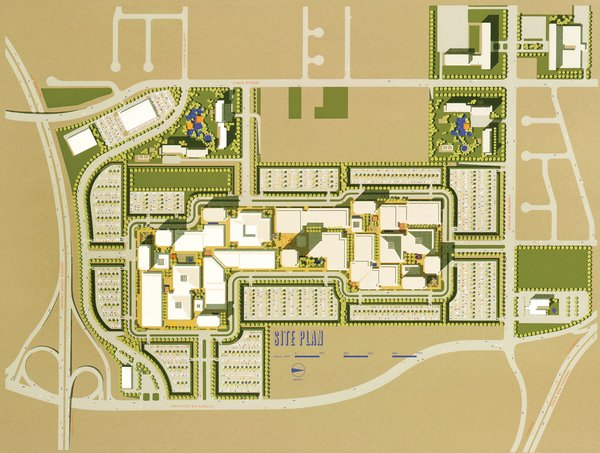 Here's the site plan.