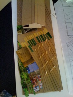 Three Great House Blogs - Photo 3 of 3 - I love this model created for the house that will eventually be fifth from the top.