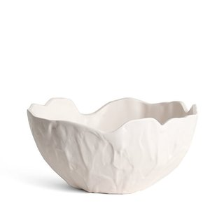 Ridge Nesting Bowls - Photo 1 of 3 - A single, medium-size bowl in satin white costs $120.