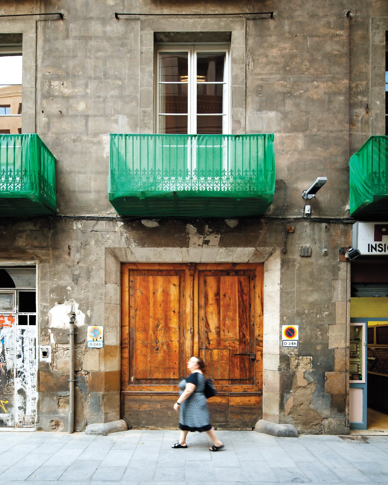 When architect Benedetta Tagliabue and her husband, the late architect Enric Miralles, began knocking down walls inside what was to become their home they discovered an original arch suspected to be a remnant of the city's Roman past.  Photo 4 of 23 in The Barcelona Home Like No Other