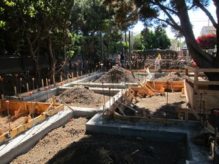 Dwell Home Venice: Part 8 - Photo 3 of 4 - The concrete footings have cured and now preparations will begin for the concrete slab pour.