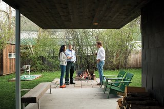 "Sultan of SitEven if your carpentry skills peaked in eighth-grade woodshop, reclaimed lumber and a bit of sweat can stand you in good stead when it comes to outdoor furniture. Whitlock created a ruggedly beautiful bench (below) from scratch. He bought a chunk of trestle lumber at a local salvage yard and lag-bolted four Ikea Sultan stainless steel bed legs to its base. ""It took me two hours, including lumberyard drive time,"" he says. ""I spent $70 total."" ikea.com"