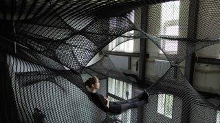 Floating Landscape Made of Net - Photo 2 of 3 -