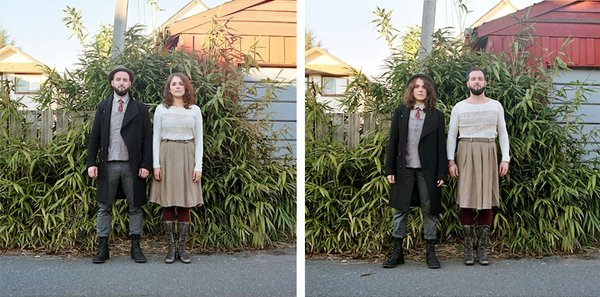 Photographs from the Switcheroo project by Vancouver's Hana Pesut.