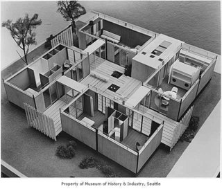 A Zero-Energy Community: Final Post - Photo 3 of 7 - A model of the original House of the Future, 1962 World's Fair, Seattle.