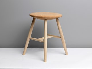 Salone 2012 Preview: Discipline - Photo 1 of 8 - The ash and cork Drifted stool by Lars Fjetland for Discipline.