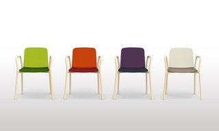 Salone 2012 Preview: Discipline - Photo 5 of 8 - Two Tone chair by Ichiro Iwasaki for Discipline.