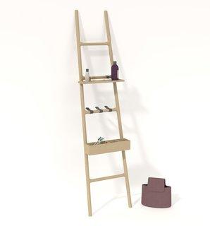 Salone 2012 Preview: Discipline - Photo 6 of 8 - The Tilt rack by SmithMatthias for Discipline.