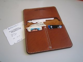 Chester Mox Passport Wallet - Photo 3 of 3 -