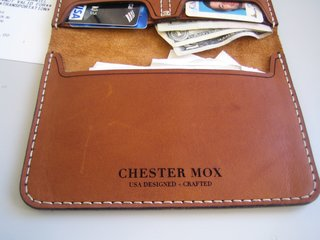 Chester Mox Passport Wallet - Photo 1 of 3 - Not only was the leather a nice shade of earthy brown, but it was incredibly soft and needed no breaking in.