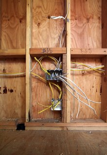 Dwell Home Venice: Part 13 - Photo 4 of 10 - Here's a shot of the wiring to a switch box and a receptacle for electrical outlet.