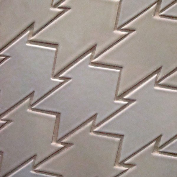 One of the designs in the runway collection by Kelly LaPlante for Fireclay Tile.