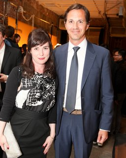 Editor-in-Chief Amanda Dameron and Lemnis Lighting CEO Warner Philips.