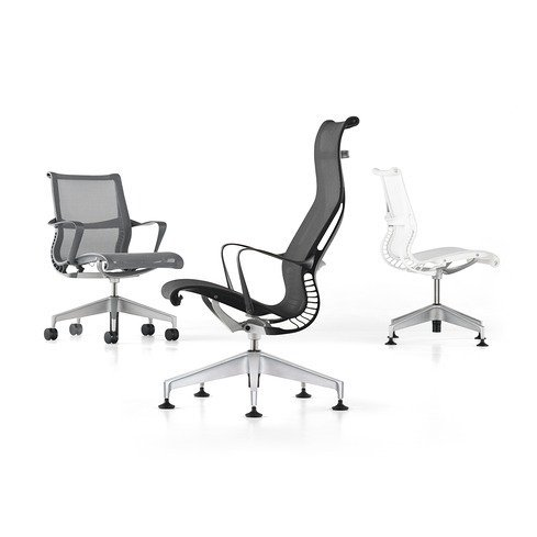 The Setu chair, by Studio 7.5, introduced in 2009.