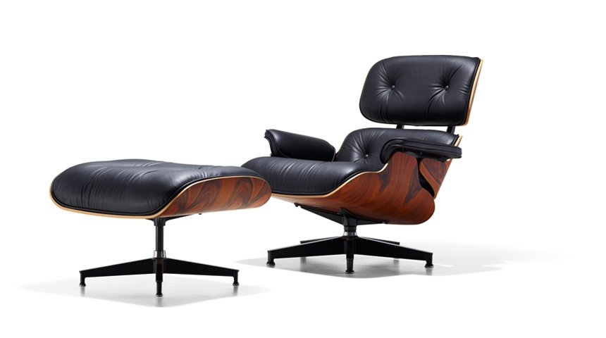 The Eames Lounge and Ottoman is another timeless icon of mid-century design, held in the design collections of the MOMA in New York and the Art Institute of Chicago.  Photo 54 of 54 in Eames Lounge Chair Porn from Q&A with Herman Miller's Marg Mojzak