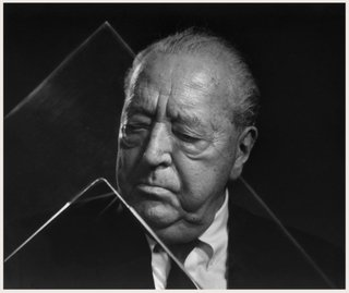 Friday Finds 05.18.12 - Photo 2 of 6 - Karsh's portrait of Mies van der Rohe in his Chicago apartment.