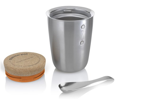 The Thermo Pot by Black + Blum keeps food or drink warm for up to six hours.