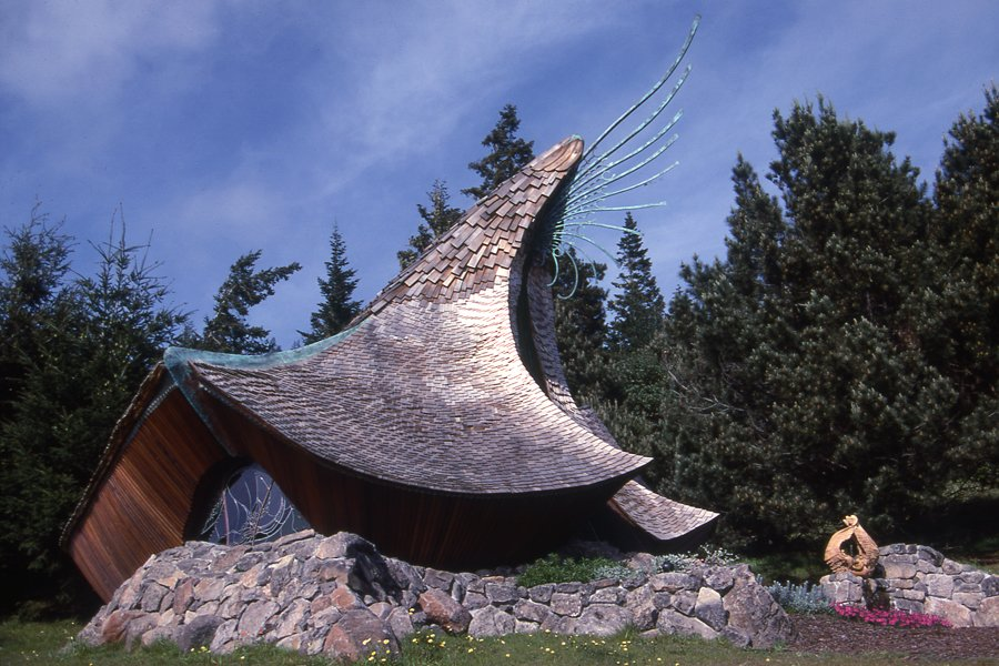 The Sea Ranch Chapel by Hubbell and Hubbell  Sea Ranch by DAVE MORIN from Mitchell Joachim's Foundational Buildings