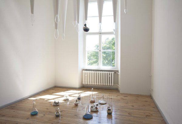 A new exhibit, Jette and Fabrik, by Lauren Coleman at Direktorenhaus Berlin.