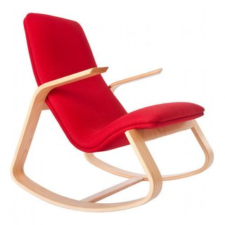 Rapson Rockers: A Classic is Reborn - Photo 4 of 4 - This is the famed 1940s Rapson Rapid Rocker recently reissued.