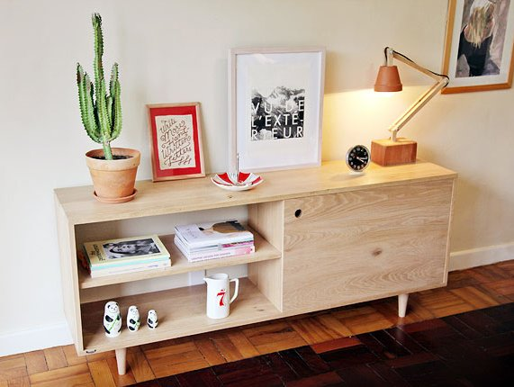 """Monya Eastman's """"Peggy"""" console."""
