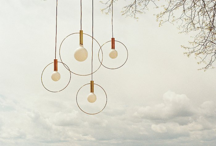 The new Aura pendants from Ladies and Gentlemen.  60+ Modern Lighting Solutions by Dwell from A Chat with Remodelista: Market Highlights for 2012