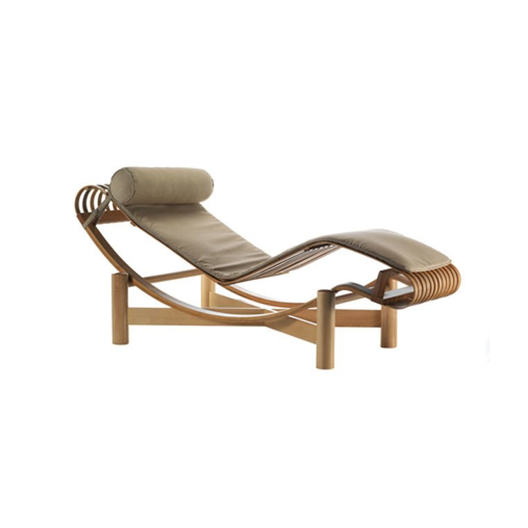 Charlotte Perriand, Tokyo outdoor chaise, 2012.  Outdoor by Maggie Lesch from Designing Women
